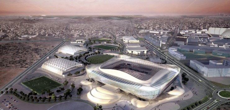 L T Joint Venture To Build 2022 Fifa World Cup Stadium In Qatar World Construction Network