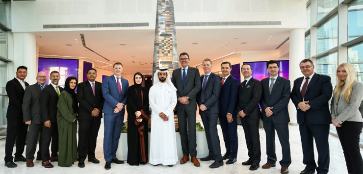 Besix subsidiary wins contract for DMCC's 78-storey Uptown Dubai