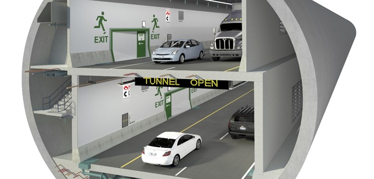 SR 99 double-deck tunnel in Washington opens to traffic - World