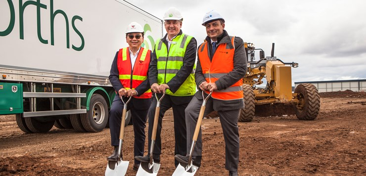 Australia's Woolworths breaks ground on £75m distribution centre in