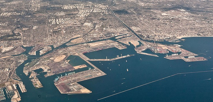 Port Of Long Beach California Selects